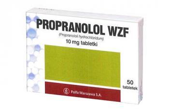 Propranorol WZF